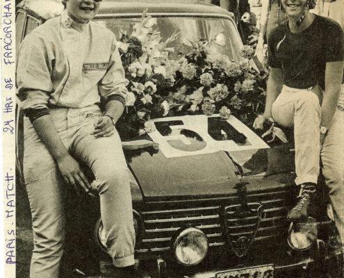 Nicole Sol - Yvette Fontaine Spa Franchorchamps 1966