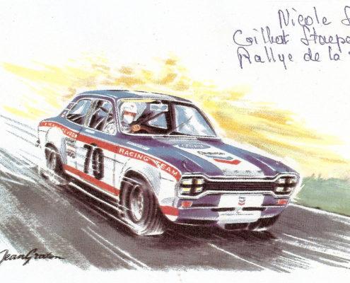Nicole Sol T.A.P Portugal 1969 Michel Vaillant