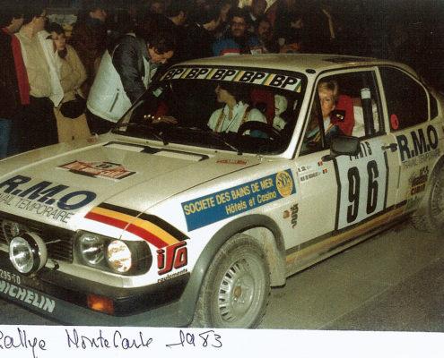 Nicole Sol - Rallye Monte Carlo 1983