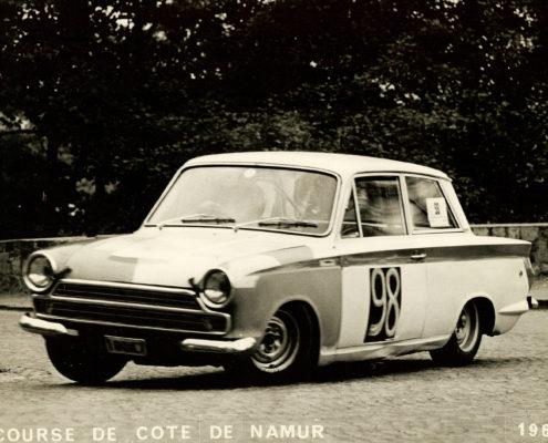 Nicole Sol Course de côte Namur 1967
