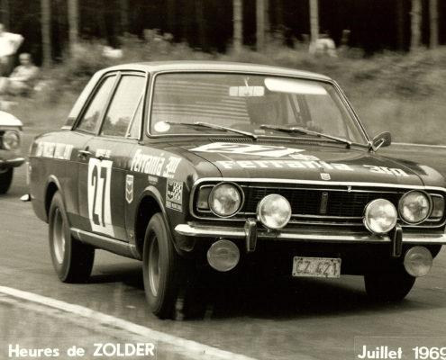 Nicole Sol - Grand Prix de Zolder 1969