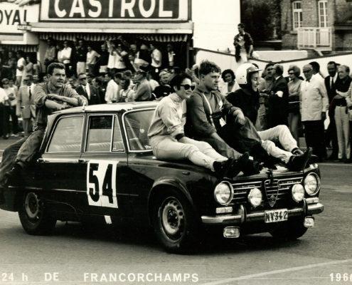 Nicole Sol - Yvette Fontaine Spa Francorchamps 1966