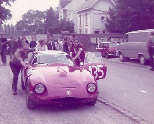 Nicole Sol Spa Francorchamps Protoype TZ Alfa Roméo 1968